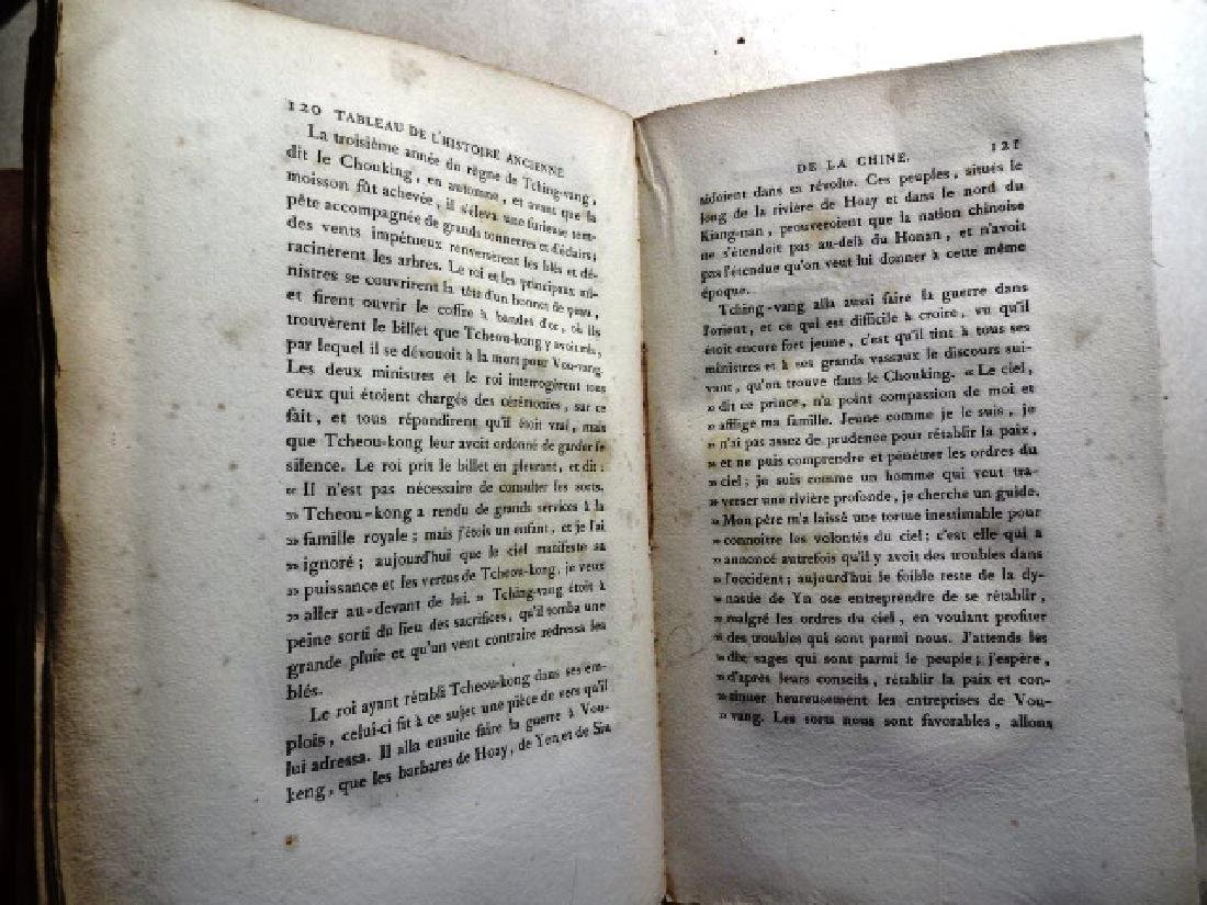 3 Volumes Voyages Peking Manila, Guignes - 4
