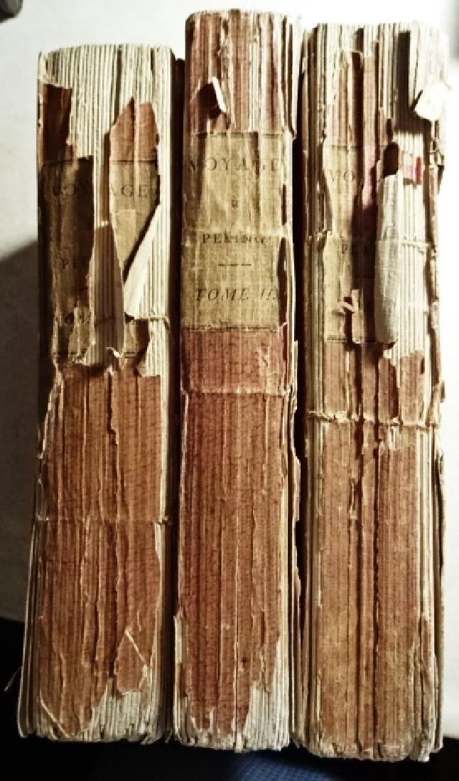 3 Volumes Voyages Peking Manila, Guignes - 6