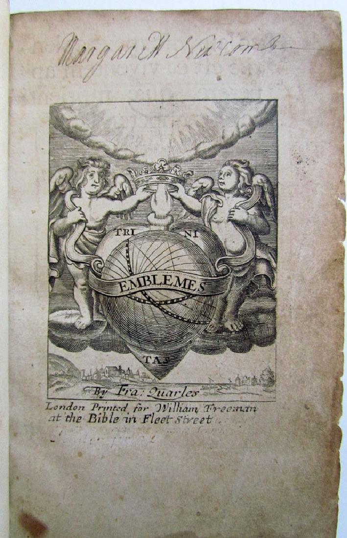 Emblemes, Francis Quarles, 1709 - 3
