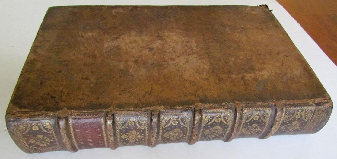 Leather Bible, 1740 - 2