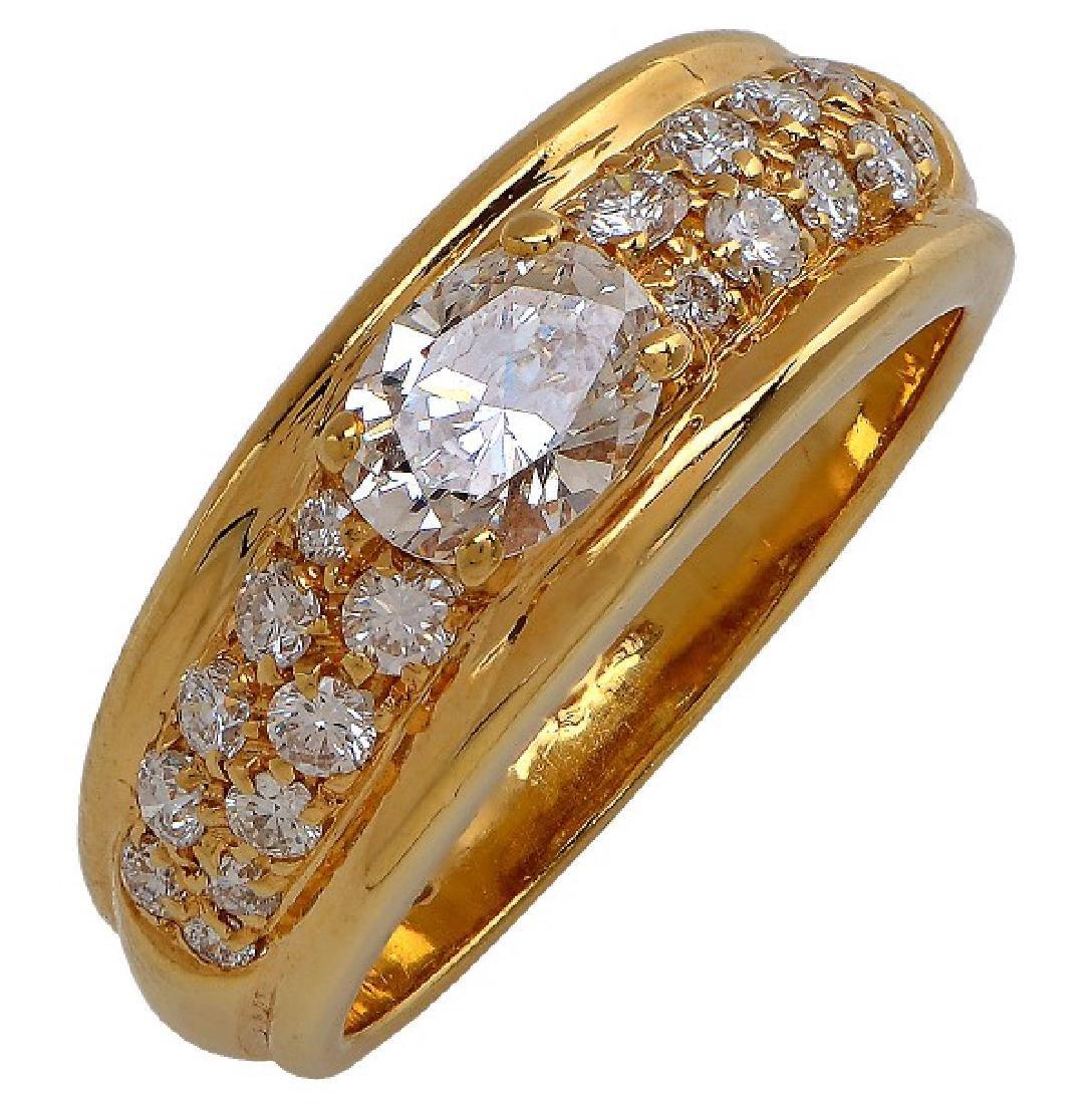 Boucheron Paris Diamond Ring