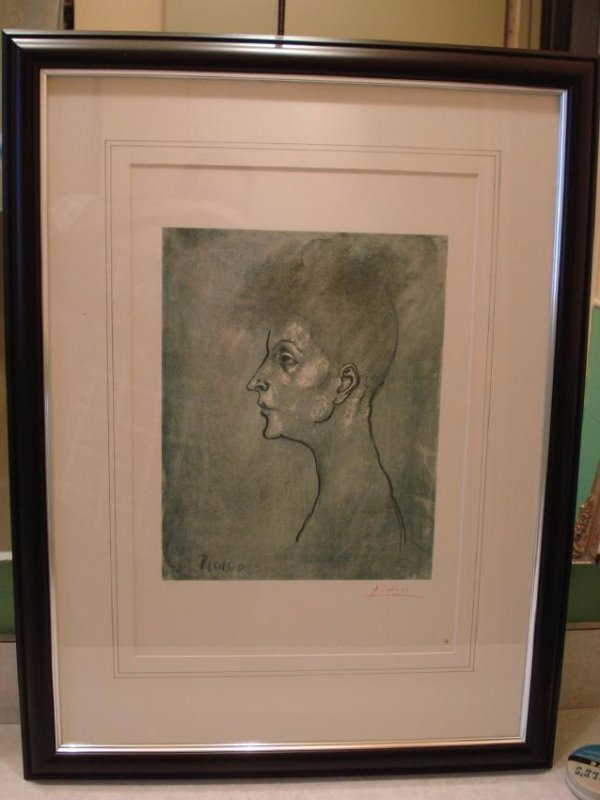 Pablo Picasso: Head of a Woman