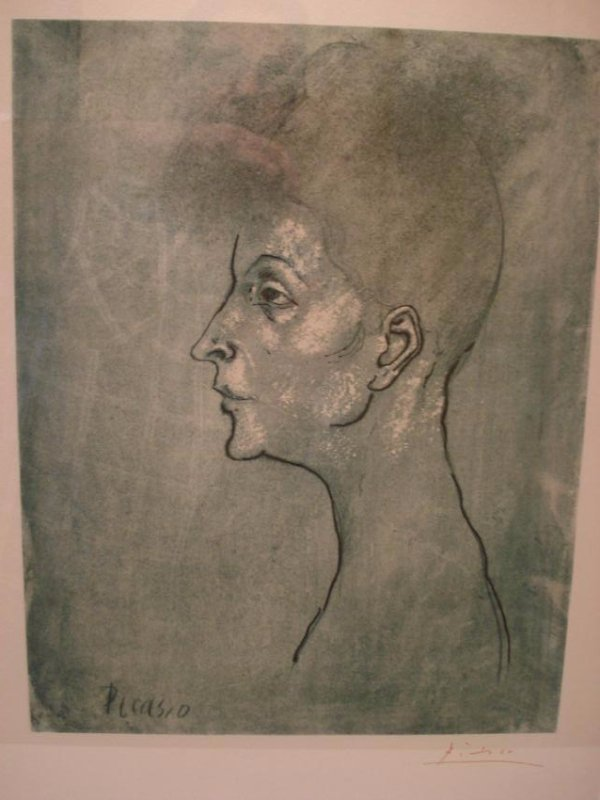 Pablo Picasso: Head of a Woman - 2