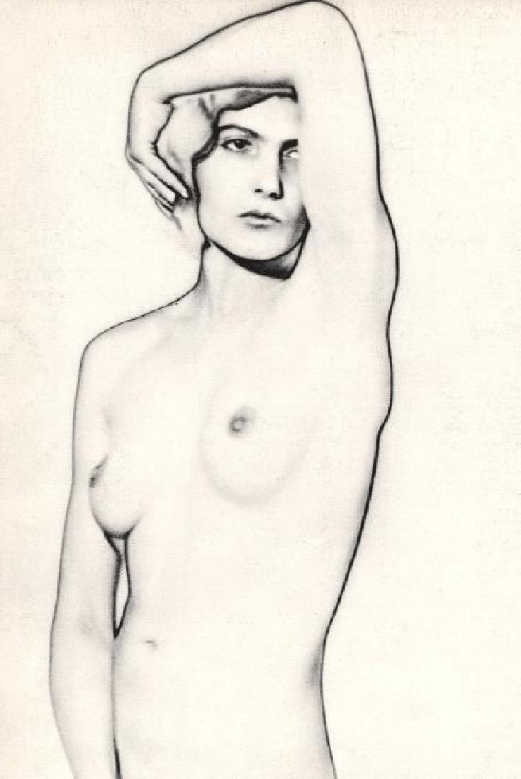 Man Ray - Solarized Nude (Natacha)