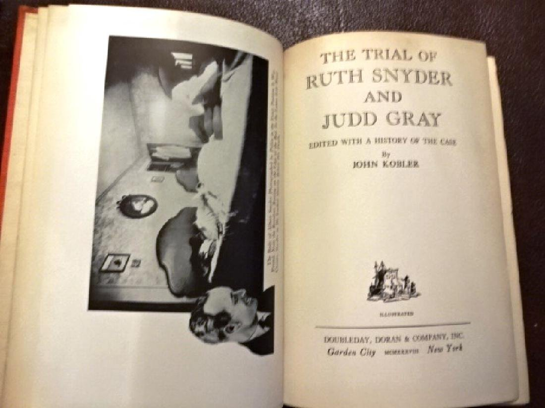 1938 The Trial of Ruth Snyder and Judd Gray, J. Kobler