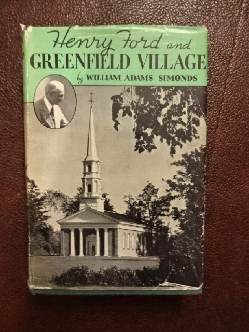 1938 Henry Ford and Greenwich Village 1st Ed.