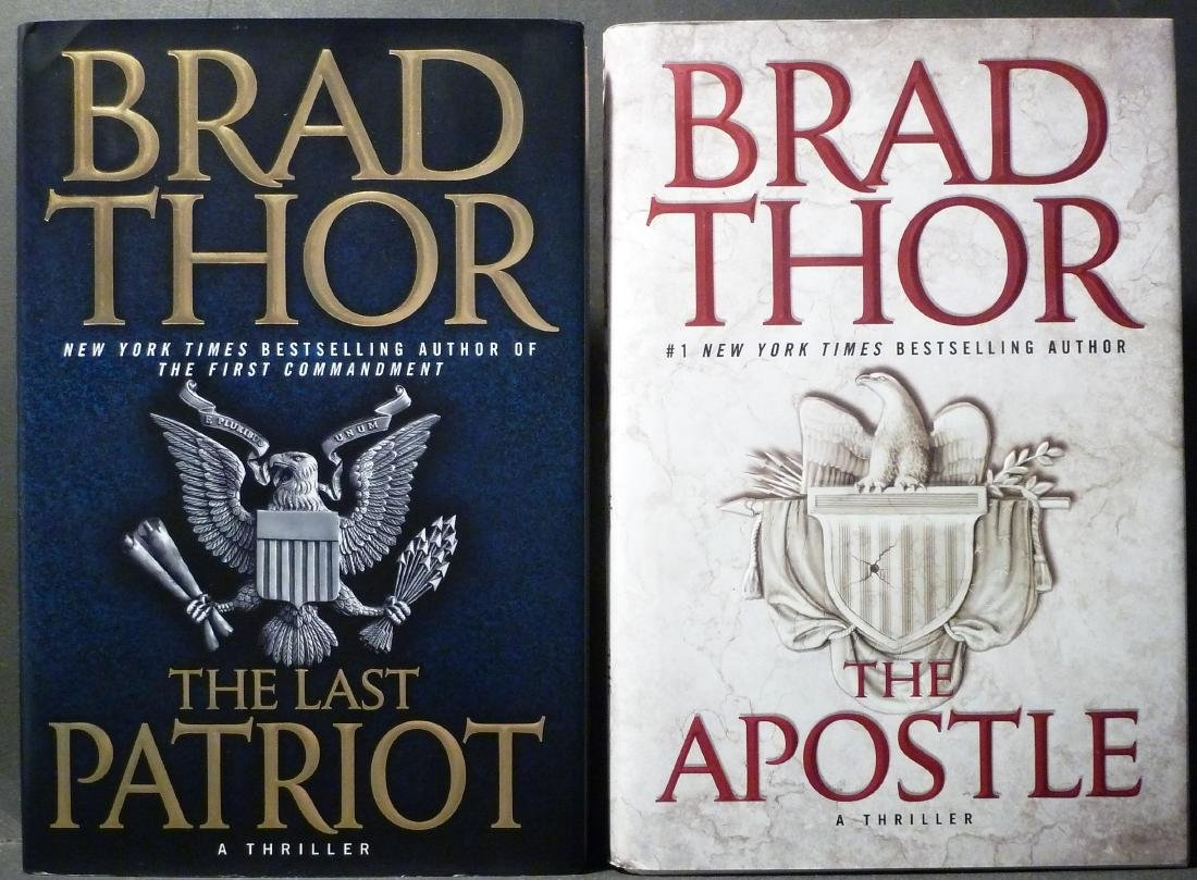 Brad Thor: The Apostle / The Last Patriot - Signed