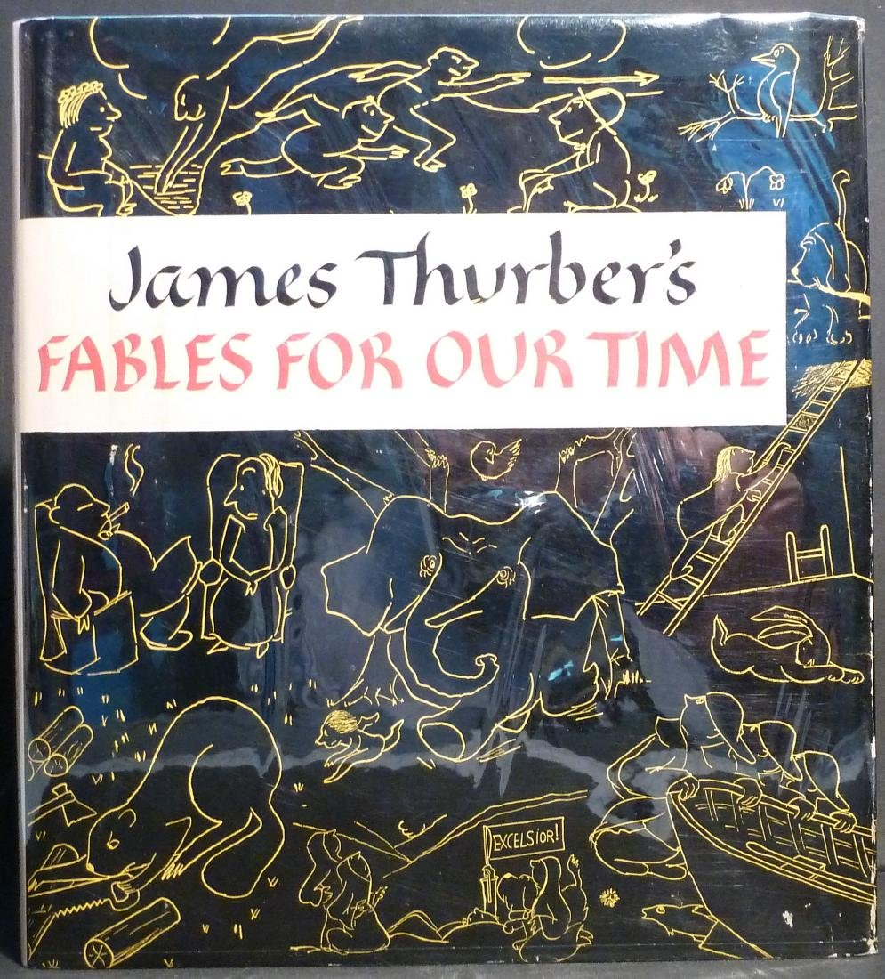 James Thurber: Fables for Our Time - Signed
