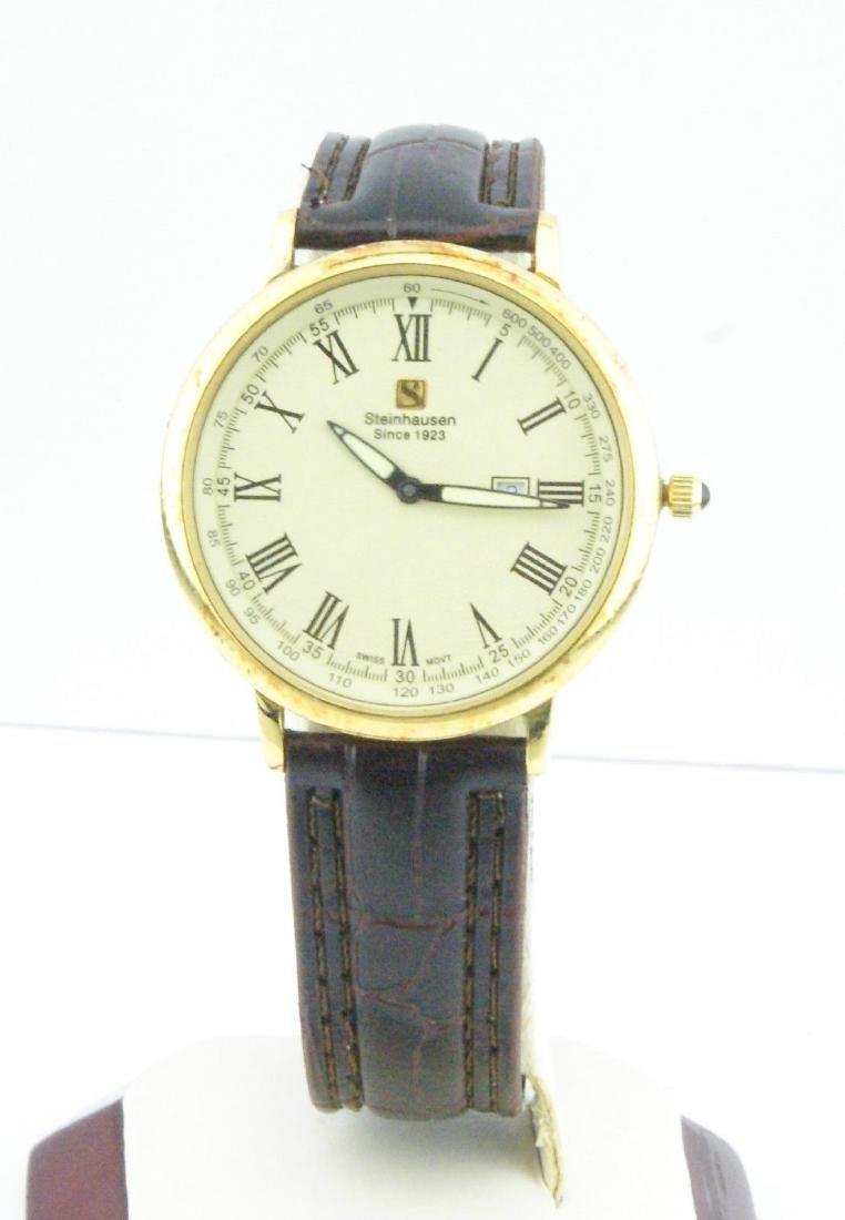 Steinhausen Men's Gold-Tone Stainless Steel Watch