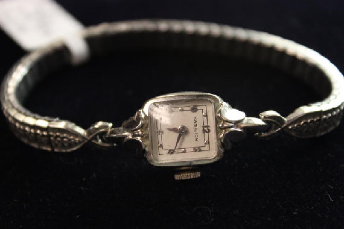 Hamilton Ladies 14K Gold Vintage Watch, 1954