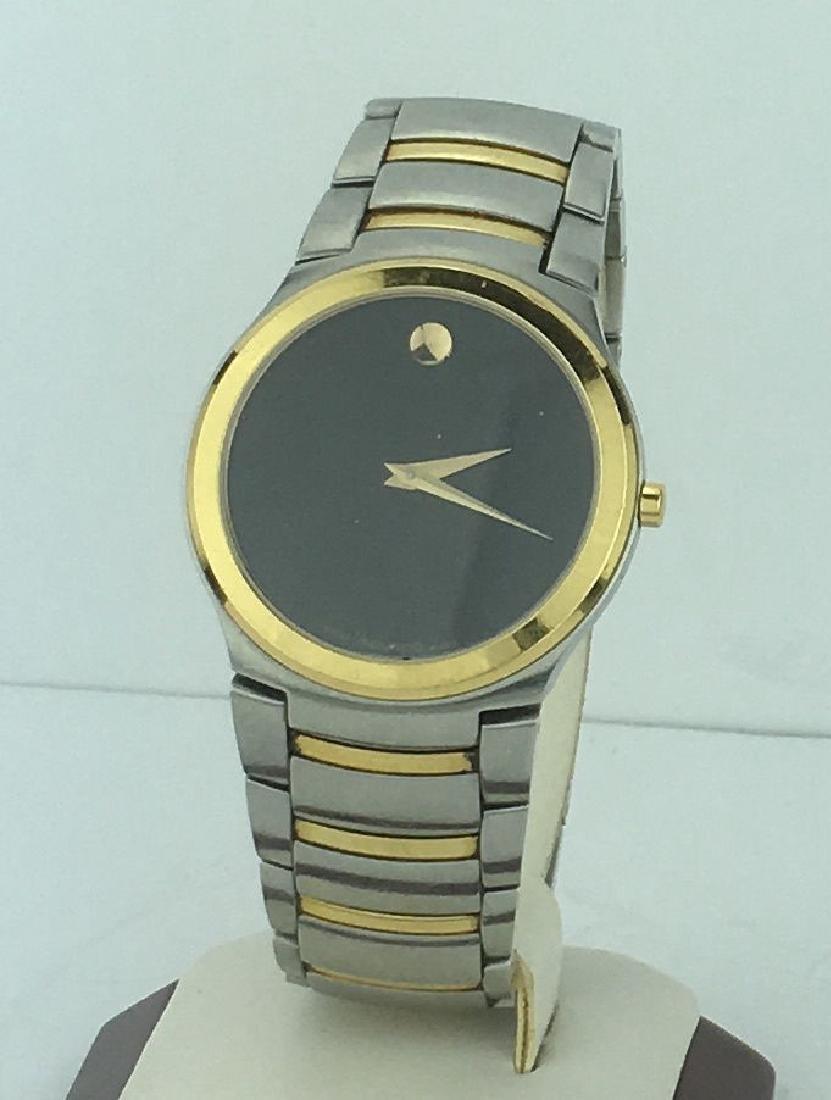 Movado Museum Two Tone Men's Watch