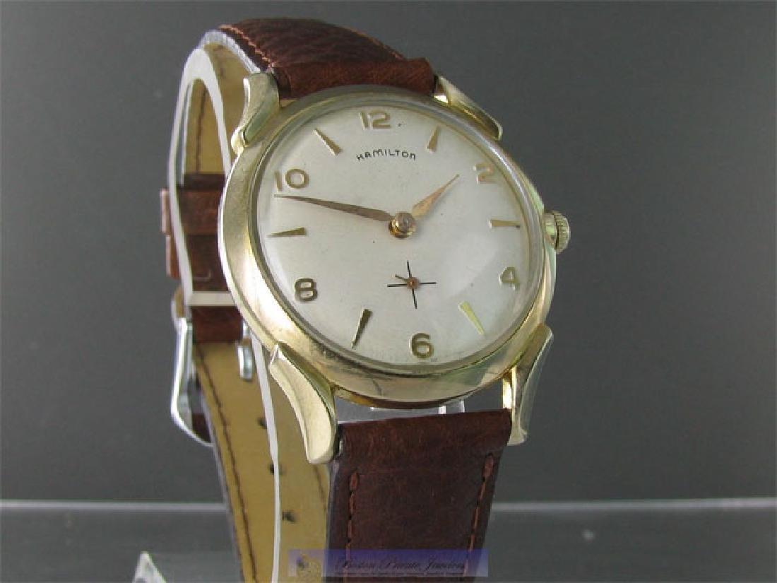 Vintage Hamilton Paxton B Gold Filled Wristwatch