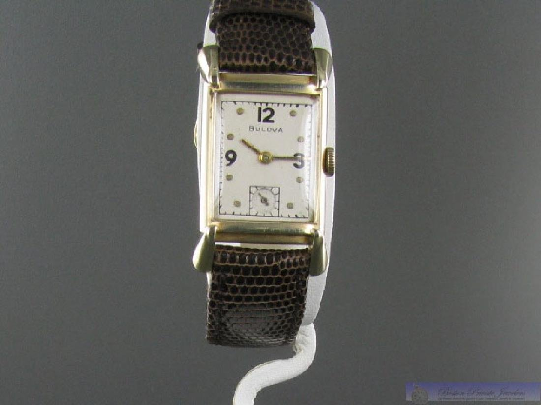 Vintage Bulova Solid 14k Gold WristWatch