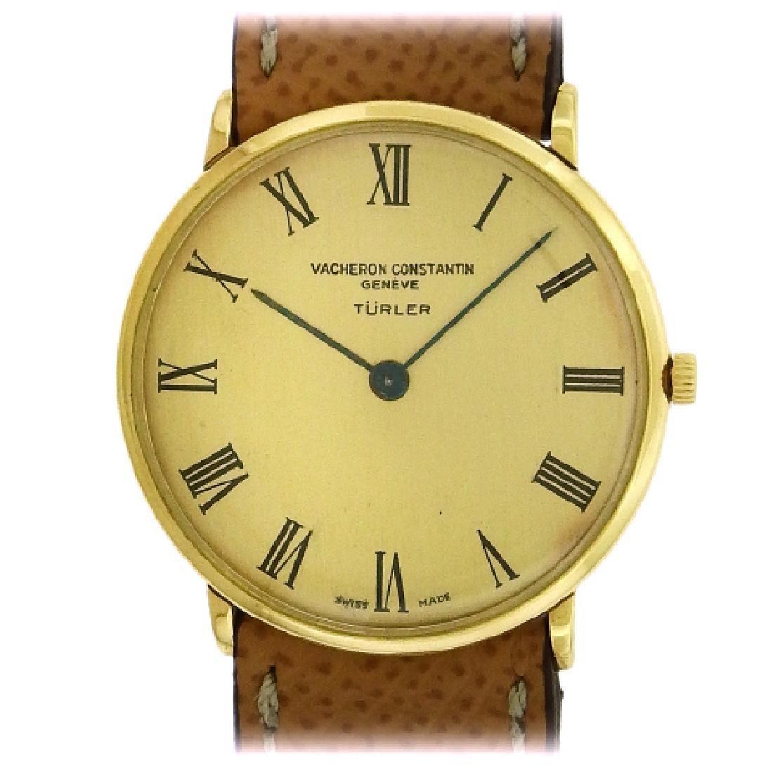 Vacheron & Constantin 18K Yellow Gold Watch, 1960