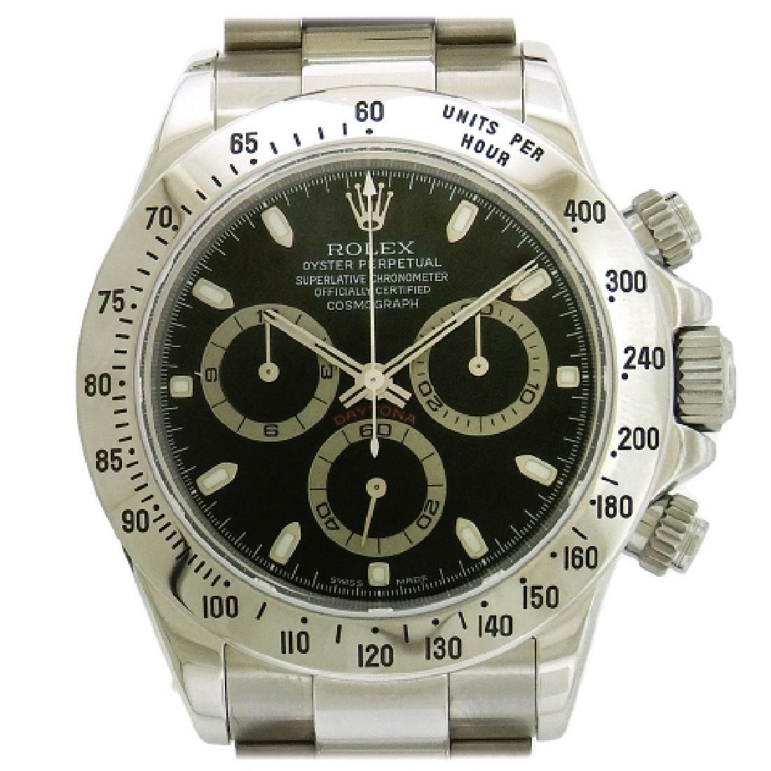 Rolex Daytona Stainless Steel Cosmograph Watch