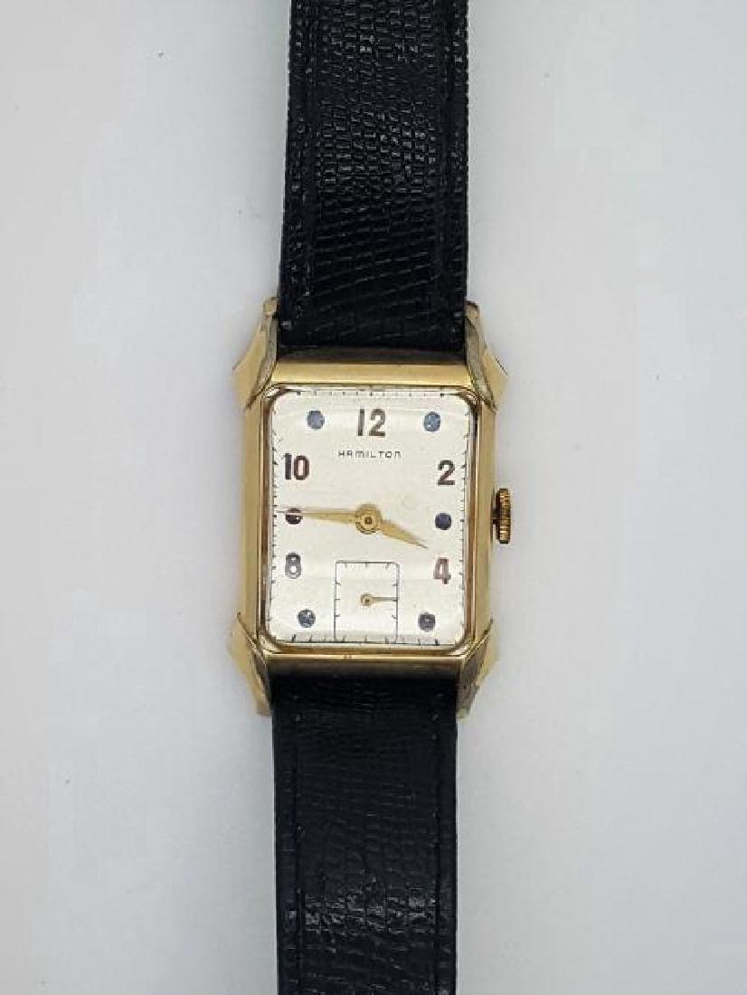 Vintage Hamilton 14K Gold Filled Men's Watch