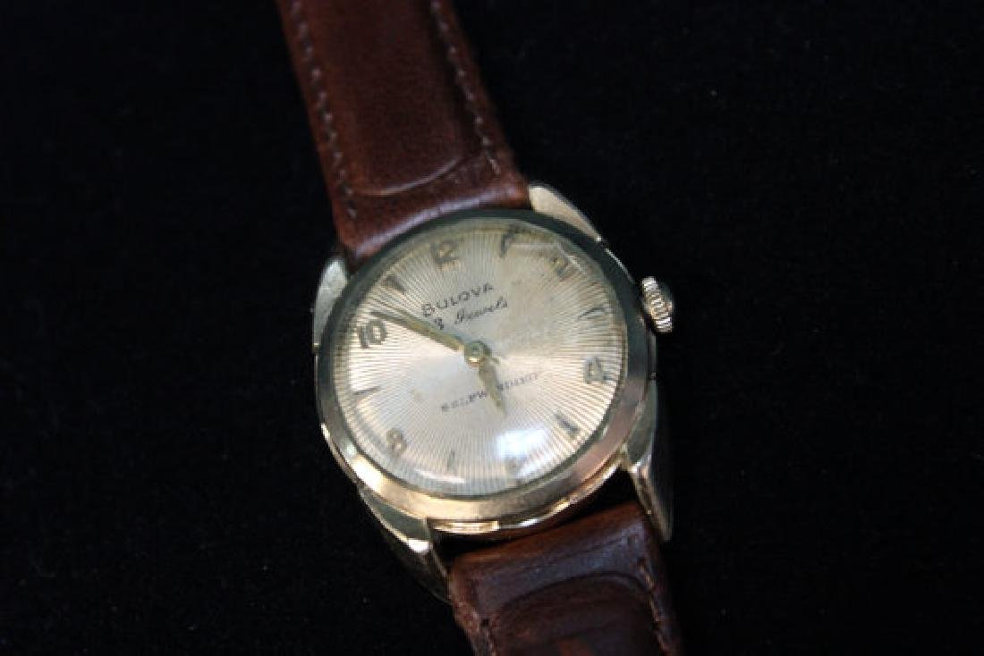 Vintage Bulova Self Winding Wrist Watch, 1956