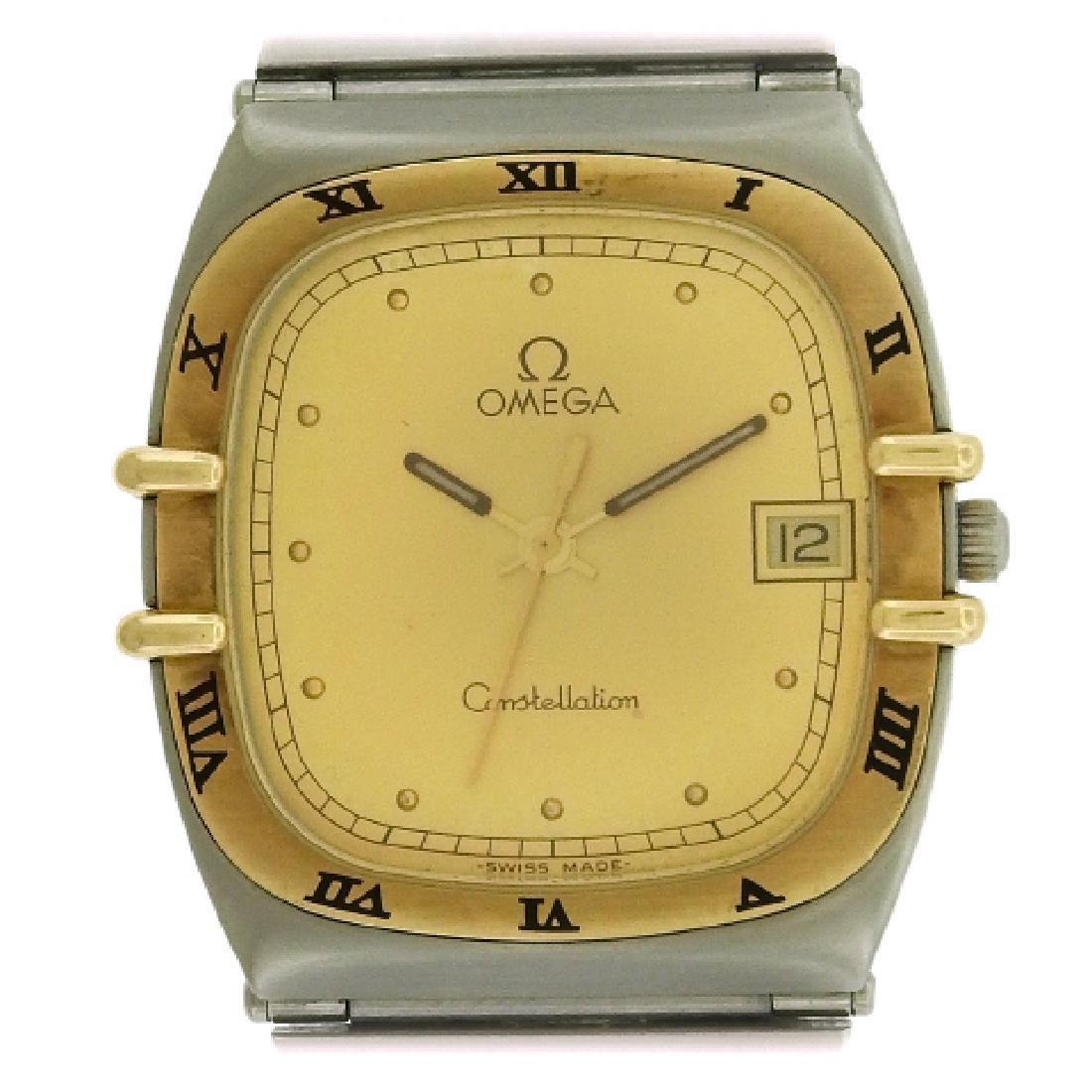 Omega Constellation Two-Tone Quartz Watch