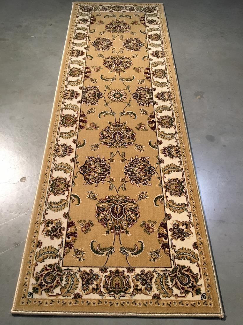 Turkish Oushak Design Runner Rug 2.8x8.1