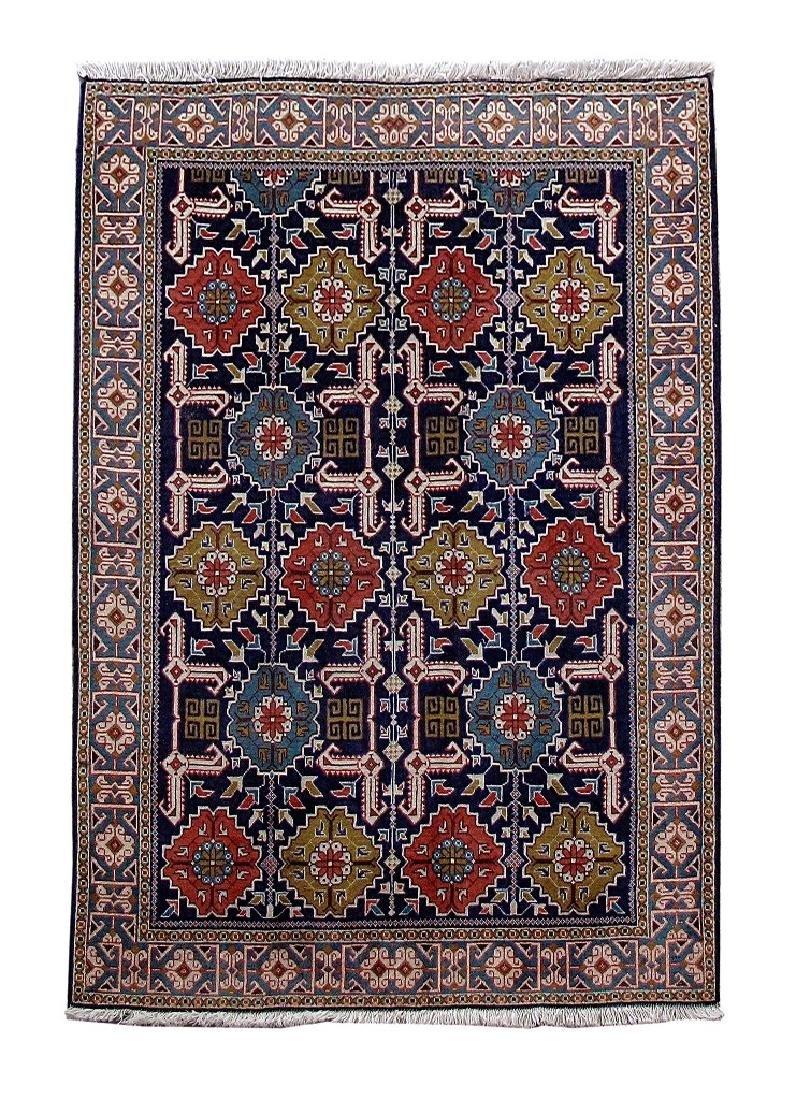 Handmade Persian Tabriz Rug 3.3x4.8