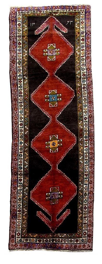 Handmade Persian Ardebil Rug 3.5x12.11