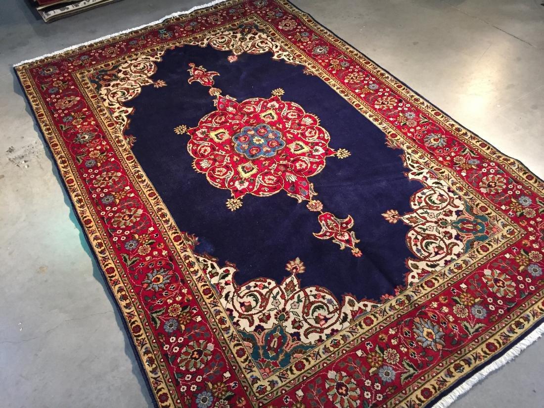 Semi Antique Persian Tabriz Rug 7x10