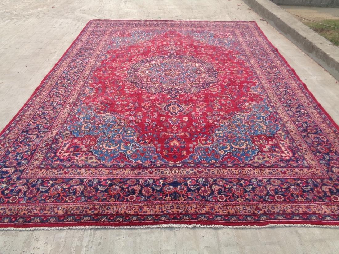 Persian Mashad Rug 13.4x9.5