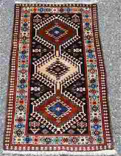 Yalameh Design Hand Woven Persian Rug 3x2