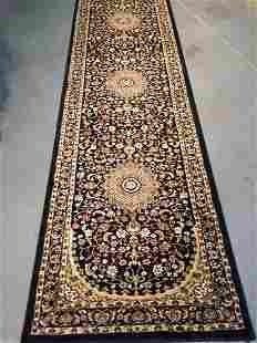Traditional Persian Isfahan Runner Rug 2.7x12