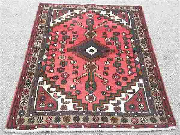 Authentic Hand Made Persian Hamadan Rug 5x3