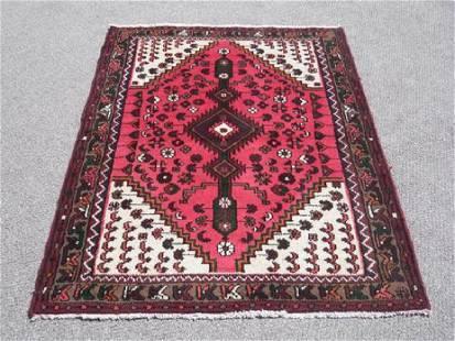Fine Hand Woven Unique Persian Hamadan Rug 5x3