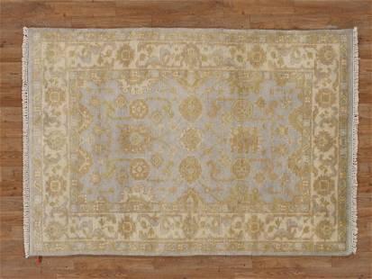 Handmade Elegant Oushak Rug 4x6