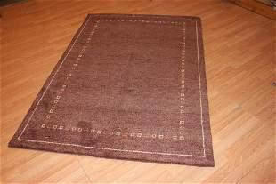 Handmade Wool Gabbeh Rug 5x7