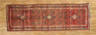 Persian Hamadan Handmade Runner Rug 3x11