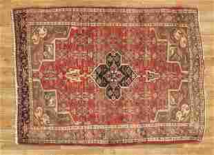 Rare Size Handmade Persian Bijar Rug 4x5