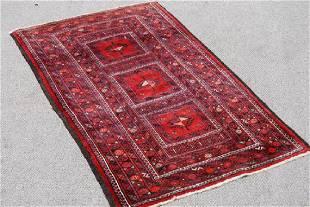 Hand Made Persian Hamedan Rug 3x6