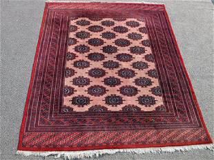 Highly Intricate Detailed Persian Turkaman Rug 6x8