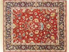 Handmade All Over Wool Serapi Area Rug 8x10