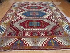 Handmade Wool Kazak Area Rug 9x12