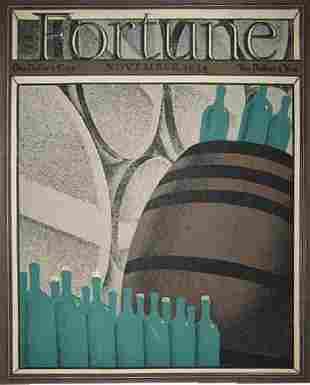 Duvoisin, 1934 Fortune Cover