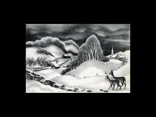 Ernest Fiene: Winter Evening