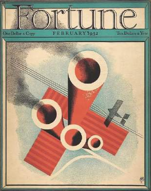 Paolo Garretto, 1932 Fortune Cover