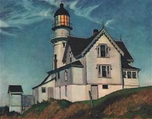 Edward Hopper: Captain Upton's House, Maine