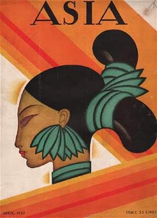 Frank McIntosh: Asia Cover, April 1927