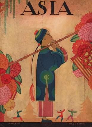 Frank McIntosh: Asia Cover, June 1927