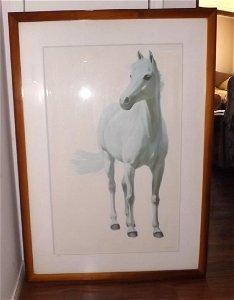 White Horse Lithograph