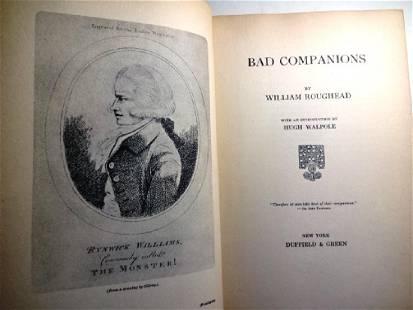 """1931 Crime Book """"Bad Companions"""""""