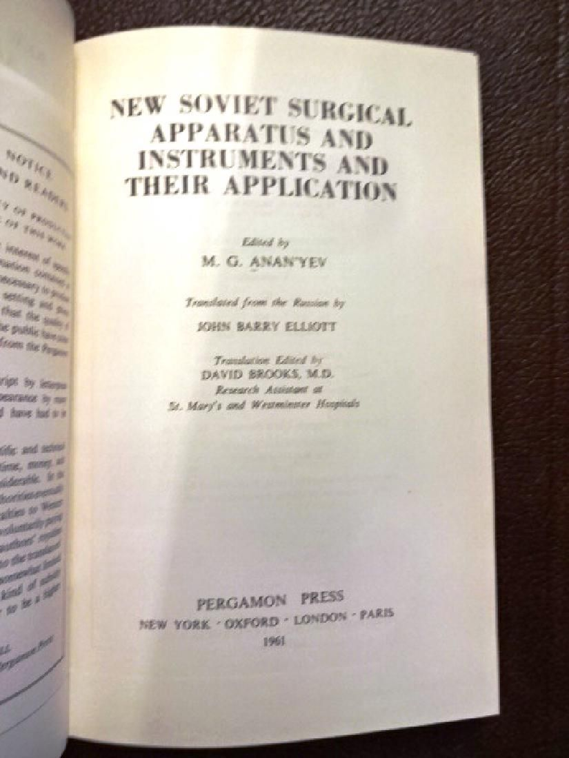 New Soviet Surgical Apparatus & Instruments