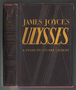 James Joyce's Ulysses By Stuart Gilbert