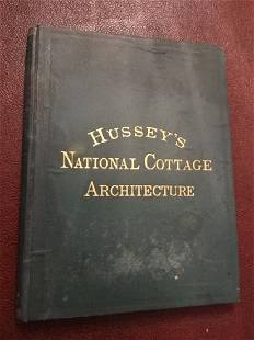 1874 Hussey's National Cottage Architecture